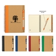 Eco Spiral Notebook and Pen - Eco spiral notebook and pen.