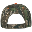 Camouflage Cap - Camouflage Cap.  100% Cotton Twill.  6 Panel, Low Profile.  Unstructured Crown & Pre-Curved Visor.