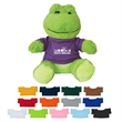 "8 1/2"" Fantastic Frog - These Cute, Cuddly 8 1/2"" Plush Cow are a Great Way to Show your Logo and get Your Message Across."