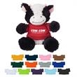 "6"" Cuddly Cow - These Cute, Cuddly 6"" Plush Cow are a Great Way to Show your Logo and get Your Message Across."