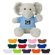 "6"" Excellent Elephant - These Cute, Cuddly 6"" Plush Elephant are a Great Way to Show your Logo and get Your Message Across."
