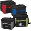 Porter Collection Lunch Bag - Insulated lunch bag with zipper closure, front zipper pocket and adjustable shoulder strap
