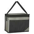 "Non-Woven Chow Time Kooler Bag - Non-Woven Chow Time Kooler Bag. Made Of 80 Gram Non-Woven, Coated Water-Resistant Polypropylene.  19"" Web Carrying Handle."