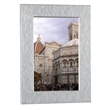 "5"" x 7"" Brio Photo Frame - Aluminum photo frame, holds 5"" x 7"" photo."