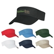 Cotton Twill Visor - Cotton Twill Visor.  100% Cotton Twill.  Double Layer Cotton Twill Sweatband.  Pro-Stitching on Front Pre-Curved Visor.