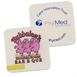 """Digital 40 pt. 3.375"""" Square Coaster - 3.375"""" square drink coaster made with recycled materials."""