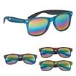 Woodtone Mirrored Malibu Sunglasses - Mirrored sunglasses with UV400 lenses that provide 100% UVA and UVB protection.