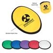 """10"""" Flying Disk With Matching Pouch - Lightweight polyester 10"""" flying disk with black trim and matching pouch"""