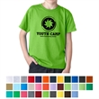 Gildan® Youth DryBlend® T-Shirt - Youth Preshunk 50% Cotton/50% Polyester Jersey Knit.  5.6 oz. T-Shirt.
