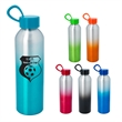 21 Oz. Aluminum Chroma Bottle - 21 Oz. Aluminum Chroma Bottle. Screw-On, Spill-Resistant Lid.  Loop Handle For Carrying Or Attaching.  Wide Mouth Opening.