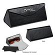 Foldable Sunglass Case - Foldable sunglass case with microfiber cloth included.
