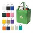 Non-Woven Shopper Tote Bag - Non-Woven Shopper Tote Bag.  Made of 80 Gram Non-Woven, Coated Water-Resistant Polypropylene.  Recyclable.  Reusable.