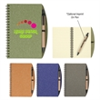 "5"" X 7"" Eco-Inspired Spiral Notebook & Pen - 70 Page Lined 5"" X 7"" Eco-Inspired Spiral Notebook & Pen with Paper Barrel, Sturdy Paper Cover and elastic pen loop."