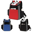 18 Cans Cooler Backpack - Zippered main compartment with insulation & heat-sealed PEVA lining to keep contents fresh.