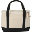 Cotton Canvas Lunch Cooler - Cotton Canvas Lunch Cooler
