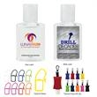 0.5 oz Hand Sanitizer - 0.5 oz Hand Sanitizer.  Lightly Scented.  Effective at Eliminating Over 99.9% of Germs and Bacteria.  Meets FDA Requirements.