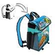 Frio Vault Backpack Cooler - Full Body Custom - Light weight soft side Frio Vault Backpack Cooler includes 4 storage area's, adjustable shoulder strap, snap together front strap