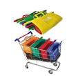 4pcs Supermarket Shopping Trolly Bags