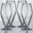 "Stately Glass - Champange - Set of 4 - Set of four Stately Collection 6.5"" tall 9.75-ounce lead-free, break-resistant champagne glasses. Machine blown in Italy."