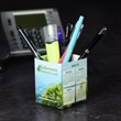 Paper Desk Caddy - Paper desk caddy with stock art available to add a calendar.