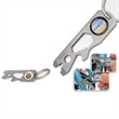 Bike N' Brew Bicycle Multi-Tool - Multi-function bicycle tool key chain with wrench, bottle opener, ruler, screwdrivers, bike spoke tool and more...