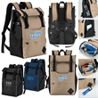Carmel Cooler Backpack - 600 denier cooler backpack with PEVA insulation, multiple compartments and padded carry straps.