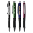 "Manhattan Grip Pen™ - Click-action ballpoint pen (5 1/2"") in bold barrel colors with ribbed, rubberized Soft-Comfort Grip™."