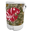 10 Gallon Beverage Cooler with King's Camo Mountain Wrap - 10 gallon beverage cooler with camouflage wrap.