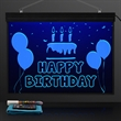 LED Sign Write-On Light Board, Plug-In & Remote