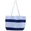 """Tote Bag - The beach-design tote bag made of canvas is 17.7"""" x11.5"""" x 5"""", which is perfect for a family time at the beach, cruises, vacations"""