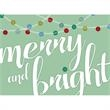 Merry & Bright Greeting Card - Merry & Bright Greeting Card