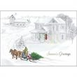 Old Fashioned Christmas Greeting Card - Old Fashioned Christmas Greeting Card