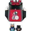 Accent 18 Cans Cooler Backpack - Accent 18 Cans Cooler Backpack. Made of 600 denier poly and linen Insulated, heat-sealed PEVA lining Spot Clean / Air Dry.
