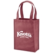 "Payson Non-Woven Mini Tote - Non-woven mini tote with reinforced 18"" handles and a 4 1/2"" gusset."