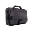 """Solo® Conquer Messenger - 2.5"""" x 14"""" x 17"""" messenger bag with padded laptop compartment for laptops up to 15.6""""."""