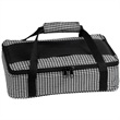 Casserole Carrier - Holds casserole dish, withstands temp. up to 500 degrees, large slip pocket with hook and tooth enclosure, zipper enclosure