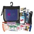 Travel Kit - Travel kit in 600 Denier nylon zippered bag with rope loop with carabiner clip.