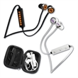 myBuds™ B30 Bluetooth In-Ear Headphones - Bluetooth in-ear headphones with rechargeable battery that provides 10 hours of play time and an in-line mic with volume control.
