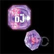 LED Diamond Ring - Diamond light up rings, priced per pack of 24.. This item is sold as blank stock only. Imprint not available.