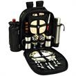 Coffee & Picnic Backpack for Two - Fully equipped lightweight picnic backpack with coffee service for two.