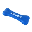 Vinyl Squeak Bone Toy - Vinyl dog bone squeak toy with a squeaker embedded and one-color pad print imprint.