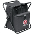 SEATED COOLER BACKPACK - outdoor event  large cooler  foam padded and PEVA lined to carry for up to 12 cans backpack the seat