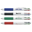 Enterprise Pen - Plunger action Enterprise pen with colored grip section.