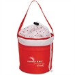 MARILYN MINI COOLER TUB - container as a lunch bag nice package  draw string top closure with polka dot designs