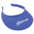 "Comfort Visor - One-size-fits-most sun visor (9"" x 7 3/4"" x 2"") with adjustable side bars and soft inner foam liner for a comfortable fit."