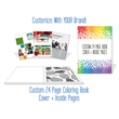 Custom 24 Page Coloring Book