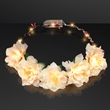 Warm White LED Flower Halo Crown