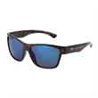 Cedar Creek Brooklyn Sunglasses - Cedar Creek Brooklyn sunglasses with shiny tortoise frame and blue mirror lenses featuring 100% UVA and UVB protection.