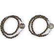 Braided Men's Wrap Charm Bracelet - Braided Men's Wrap Charm Bracelet