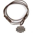 Cruzan Rum Leatherette Wrap Bracelet - Cruzan Rum Leatherette Wrap Bracelet
